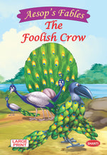 Aesop Fables for children-Aesop Fables (English) - The Foolish Crow