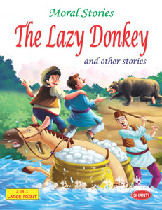 Story Book for Kids-Moral Stories (English) - The Lazy Donkey and other Stories
