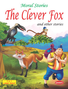 Story Book for Kids-Moral Stories (English) - The Clever Fox and other Stories
