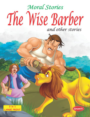 Story Book for Kids-Moral Stories (English) -  The Wise Barber and other Stories