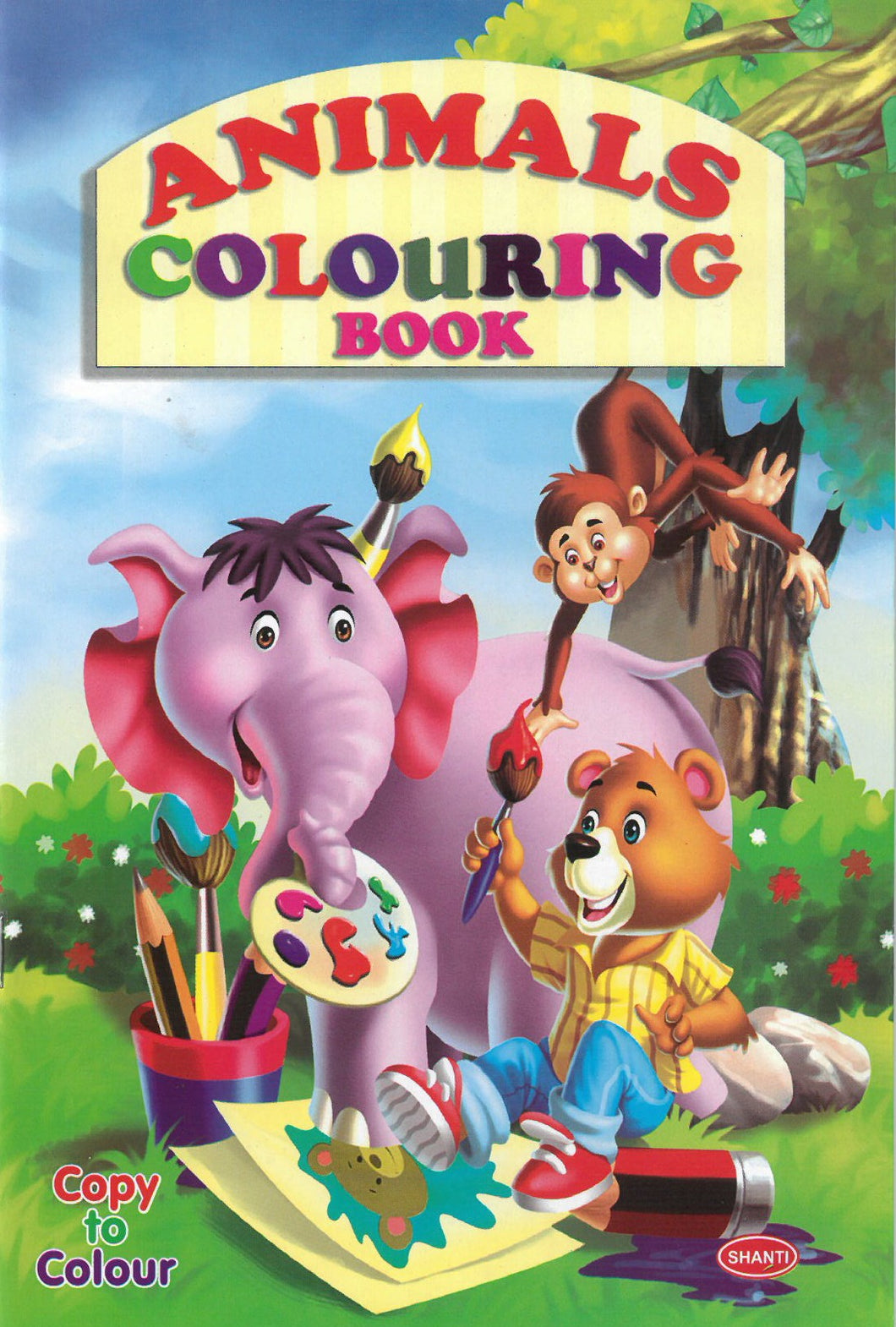 Colouring Books for Kids - Animals Colouring Book