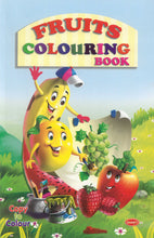 Colouring Books for Kids - Fruits Colouring Book