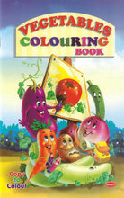 Colouring Books for Kids - Vegetables Colouring Book