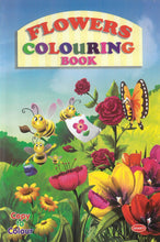 Colouring Books for Kids - Flowers Colouring Book