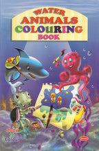 Colouring Books for Kids - Water Animals Colouring Book