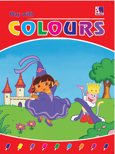 Colouring Book for Kids - PLAY WITH COLOURS-2