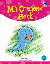 Colouring Book for Kids - MY CRAYONS BOOK-1