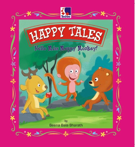 HAPPY TALES - HELLO MISS MOPPY MONKEY!