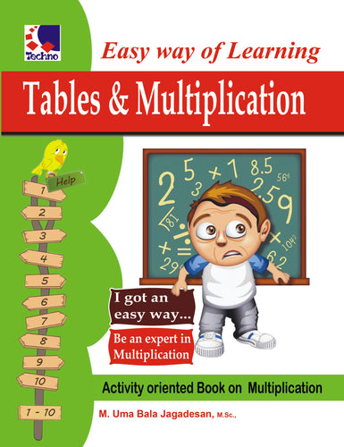 EASY WAY OF LEARNING TABLES & MULTIPLICATION