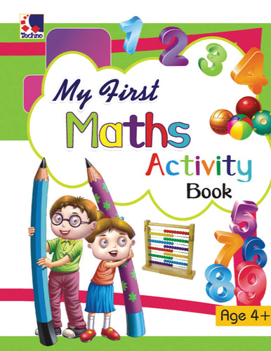 Activity Book for Kids - Maths Activities for 4+