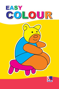 Colouring Book for Kids - EASY COLOUR BOOK-1