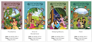 these Fairy Tales for Kids contain the story of Thumbelina, Alice in Wonderland, Sleeping Beauty, Heidi