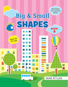 Cover Page of Shapes and Colours Sticker Book