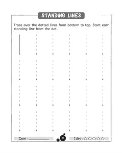 standing lines worksheets