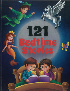 A collection of 121 bedtime stories for kids