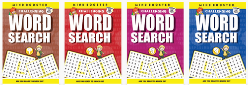 Word Search Puzzle Books for 6+ Kids