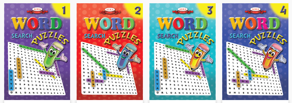 word search puzzle books for kids