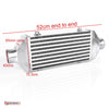 Small Universal Bar & Plate Intercooler 520mm  x 155mm x 65mm with 63mm Inlets