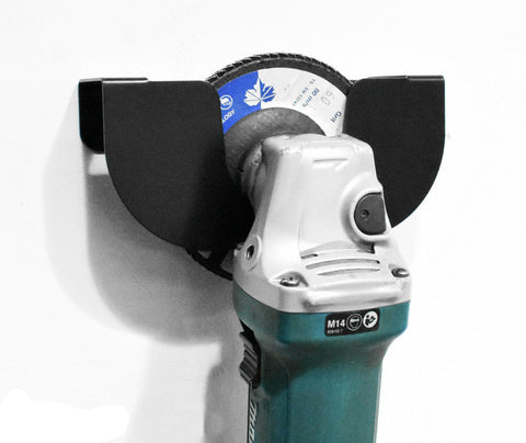 MegaMaxx Wall Mounted Angle Grinder Holder (4 Sizes Available)