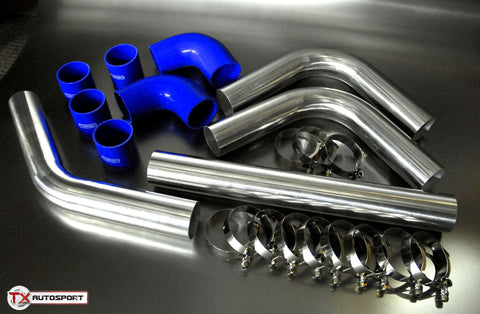 "2.5"" 63mm Aluminium Universal Pipe Kit"