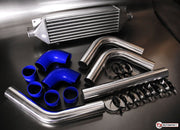 "2.25"" 57mm Universal Intercooler Pipe Kit + High Flow Intercooler Package"