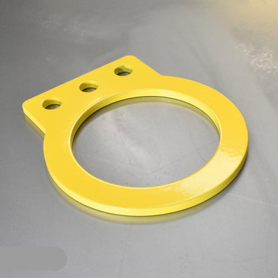 Flat Universal Towing Eye - Short - 125mm Long - 80mm Loop