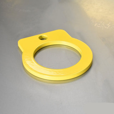 Flat Universal Towing Eye - Short - 90mm Long - 55mm Loop