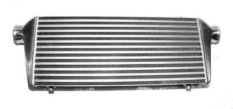 Large Alloy Front Mount Universal Turbo Intercooler - 63mm Outlets