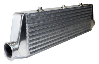 Medium Alloy Front Mount Universal Turbo Intercooler With 2.5