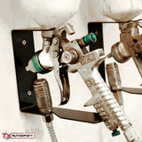 Wall Mounted Spray Gun Holder