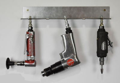 Wall Mounted Air Tool Holder - 5 Slot