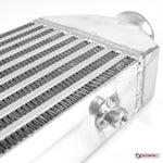 Universal Small Front Mount Intercooler - Bar & Plate Design - 520x155x65mm - 63mm Inlets
