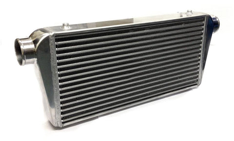 Universal Large Front Mount Intercooler - Tube & Fin Design - 780x300x75mm - 76mm Inlets