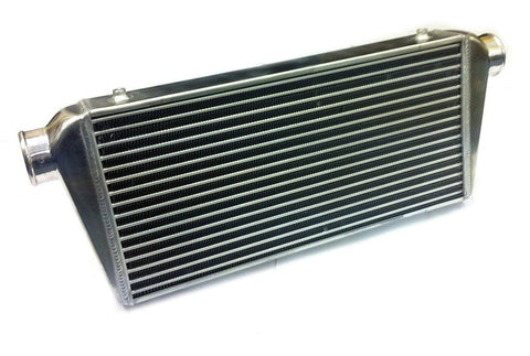 Universal Large Front Mount Intercooler - Tube & Fin Design - 790x300x75mm - 63mm Inlets