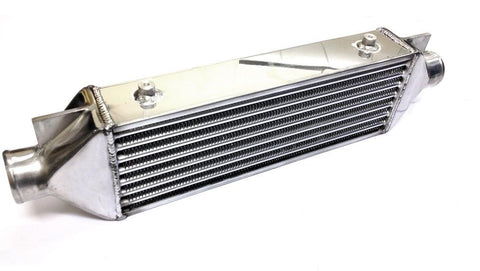 Universal Medium Front Mount Intercooler - Tube & Fin Design - 690x160x90mm - 63mm Inlets