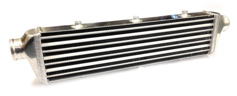 Universal Small Front Mount Intercooler - Tube & Fin Design - 700x140x50mm - 57mm Inlets
