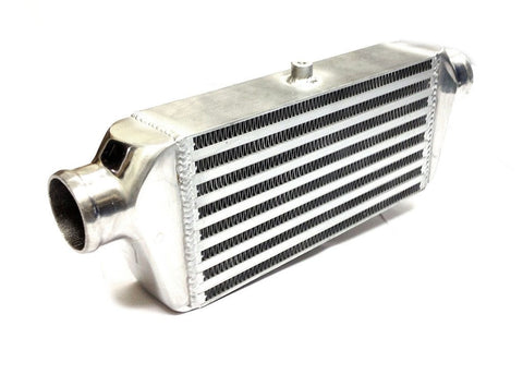 Universal X-Small Front Mount Intercooler - Bar & Plate Design - 430x140x65mm - 57mm Inlets