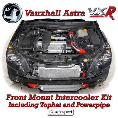Vauxhall Astra VXR Front Mount Intercooler Kit + Tophat
