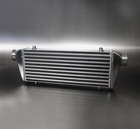 Universal Small Front Mount Intercooler - Bar & Plate Design - 600x170x65mm - 63mm Inlets