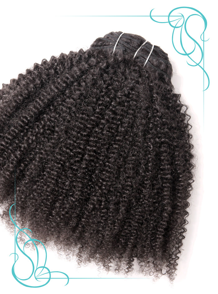 Nefertiti Curly 3C Hair Extension outside product view