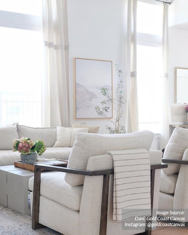 Neutral Living Room, Coastal Living Room, Neutral Artwork