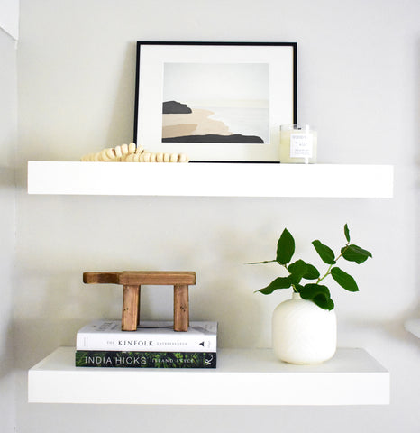 Shelfie, Shelf Styling, Art for Shelves