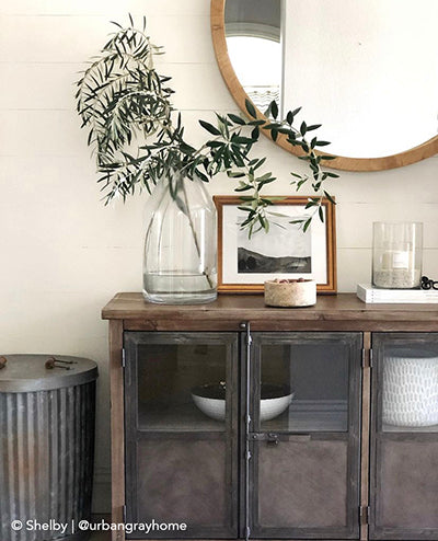 Console Table Styling, Vintage Art, Entryway Styling, Entryway Decor
