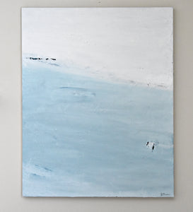 "Serene - Original 24"" x 30"" Acrylic on Canvas"