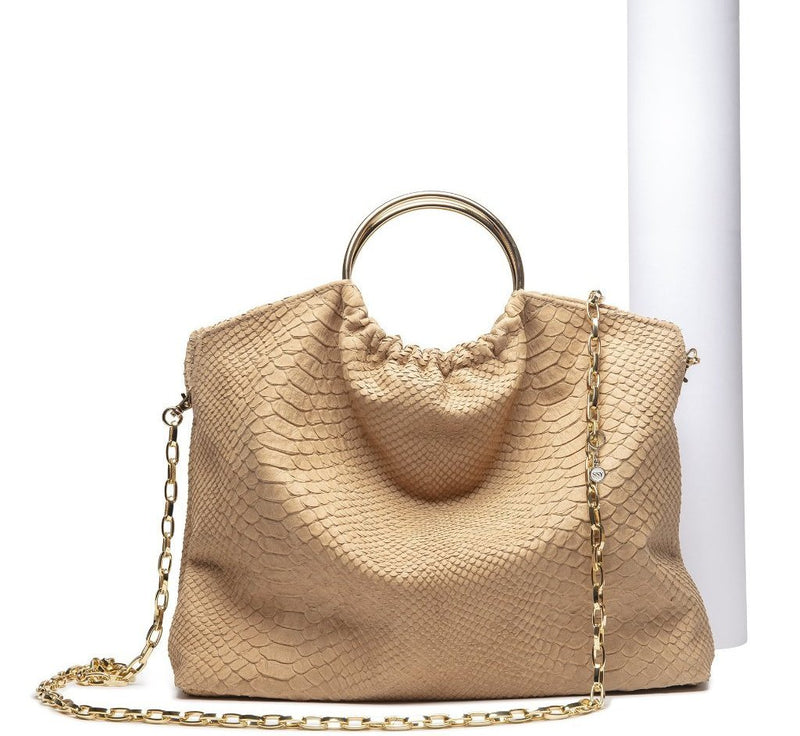 The Andrey Handbag- in Camel - SSY Designs