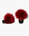 Red Pom Shoe Accessories