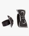 Black Bow Shoe Clip