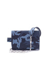 TRIPLE THREAT BELT BAG IN BLUE CAMO - SSY Designs