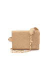 TRIPLE THREAT BELT BAG IN GOLD - SSY Designs