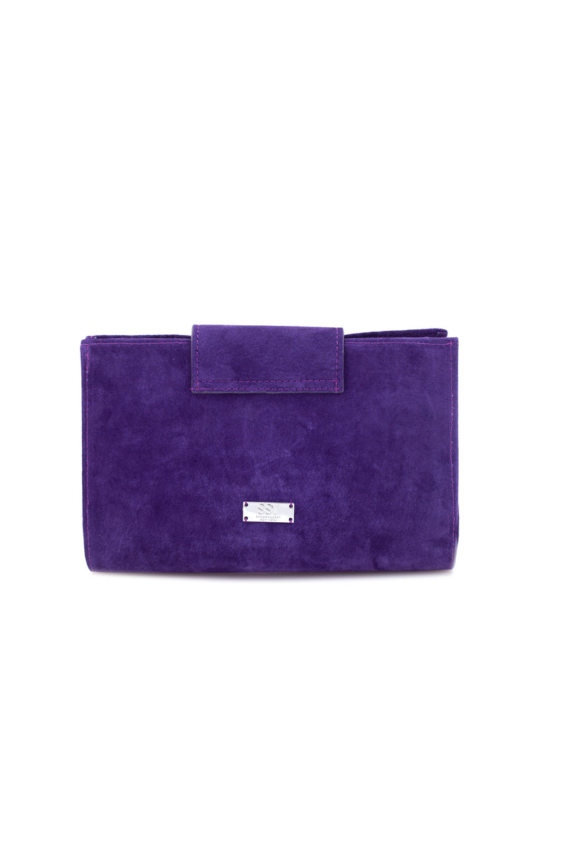 CHRISTINA IN PURPLE SUEDE - SSY Designs